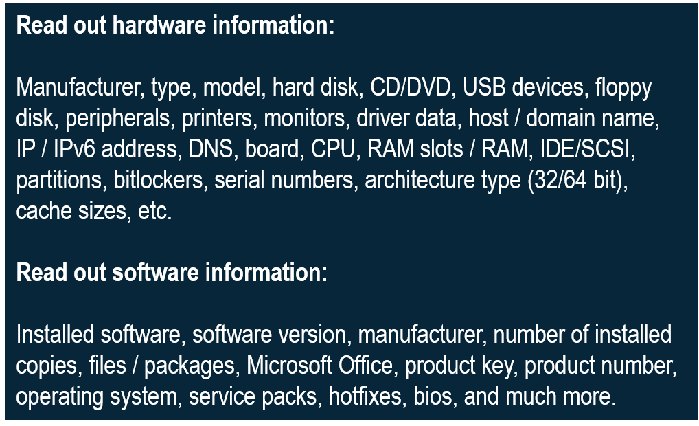 Scanning - FCS Fair Computer Systems